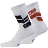 Nalini Folgore Socks - Red - XS - Red