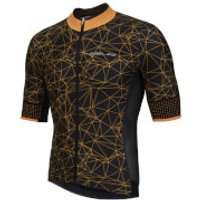 Nalini Naranco Short Sleeve Jersey - Black/Fluro Orange - M - Black/Orange
