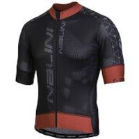 Nalini Velocita Short Sleeve Jersey - Black/Red - XL - Black/Red