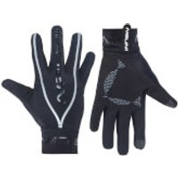 Nalini New Pure Mid Long Finger Gloves - Black - S - Black