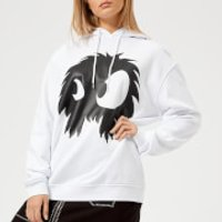 McQ-Alexander-McQueen-Womens-Boyfriend-Chester-Monster-Hoodie-Optic-White-S-White