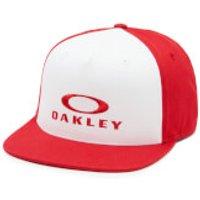 Oakley Silver 110 Flex Fit Cap - Red Line