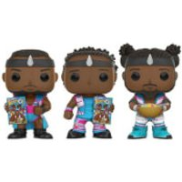 WWE The New Day Booty O EXC Pop! Vinyl Figure 3-Pack - Wwe Gifts