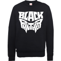 Black Panther Emblem Sweatshirt - Black - XL - Black
