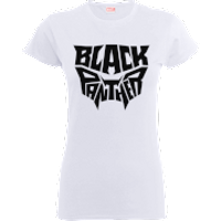 Black Panther Emblem Women's T-Shirt - White - L - White