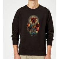 Black Panther Totem Sweatshirt - Black - XL - Black