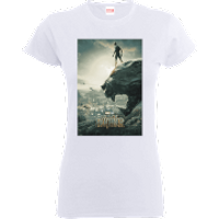 Black Panther Poster Women's T-Shirt - White - M - White
