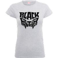 Black Panther Emblem Women's T-Shirt - Grey - L - Grey