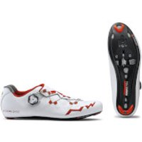 Northwave Extreme RR Cycling Shoes - White/Red - EU 42/UK 8.5/US 9.5 - White/Red