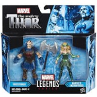 Marvel Legends The Mighty Thor Action Figure Pack - Executioner and Marvel's Enchantress - Action Gifts