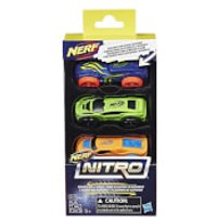 Nerf Nitro 3 Cars - Pack 1 - Nerf Gifts