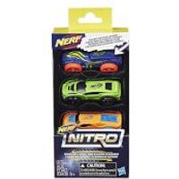 Nerf Nitro 3 Cars - Pack 1