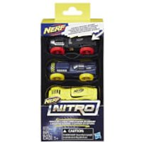 Nerf Nitro 3 Cars - Pack 4 - Nerf Gifts