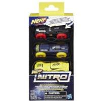 Nerf Nitro 3 Cars - Pack 4