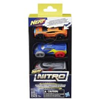 Nerf Nitro 3 Cars - Pack 3 - Nerf Gifts