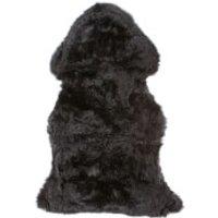 Royal Dream Large Sheepskin Rug - Black