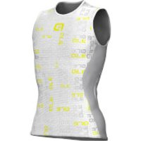 Ale Velo Active Baselayer - Grey/Fluo Yellow - XL-XXL
