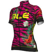 Ale Women's PRR 2.0 Flowers Jersey - Purple - L - Purple