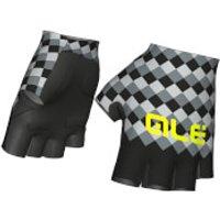 Ale Rumbles Gloves - Black/Grey - XS - Black/Grey