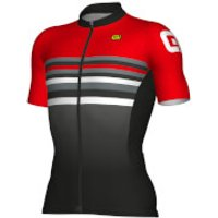 Ale Formula 1.0 Stripes Jersey - Black/Red - XL - Black/Red