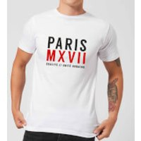 Paris Unite Urbaine T-Shirt - White - 3XL - White