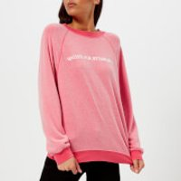 Wildfox Womens Retired Sweatshirt - Pigment Red Flare - M - Red