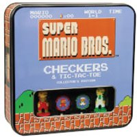 Super Mario Bros. Collector's Edition Checkers Board Game