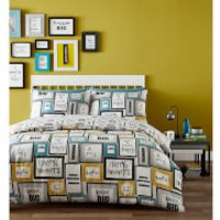 Catherine Lansfield Dream Big Duvet Set - Multi - King - Multi - Bedding Gifts
