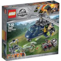 LEGO Jurassic World Fallen Kingdom: Blue's Helicopter Pursuit (75928) - Helicopter Gifts