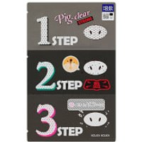 Holika Holika Pig Clear Blackhead 3-Step Kit (Strong)