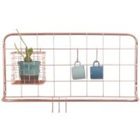 Present Time Open Grid Kitchen Rack Set - Copper Plated