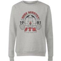 Nintendo Donkey Kong Gym Light Grey Womens Sweatshirt - Grey - XL - Grey