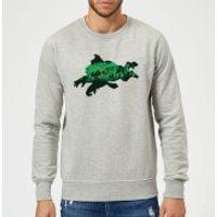 Nintendo Donkey Kong Silhouette Sweatshirt - Grey - XXL - Grey