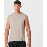 Luxe Classic Drop Armhole Tank Top - Taupe - S - Taupe