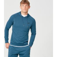 Form Pullover Hoodie - Petrol Blue - S - Petrol