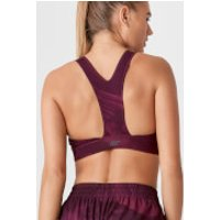 Racer Sports Bra - XL - Print