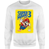 Nintendo Super Mario Bros 3 Sweatshirt - White - XXL - White