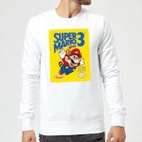 Nintendo Super Mario Bros 3 Sweatshirt - White - S - White