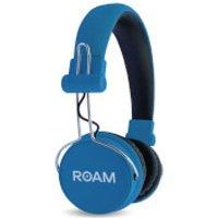 ROAM Journey On Ear Wireless Bluetooth Headphones - Blue - Headphones Gifts