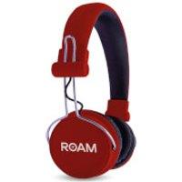 ROAM Journey On Ear Wireless Bluetooth Headphones - Red - Headphones Gifts