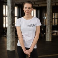 Healthy Madame I'm Doing This For Me T-Shirt - White - S - White
