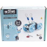 The Off Bits Robot Kit - Blue Car