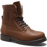 Wrangler Mens Aviator Roll Down Suede Lace Up Boots - Chestnut - UK 6/EU 40 - Brown