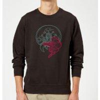 Nintendo Super Metroid Samus And Mother Brain Sweatshirt - Black - XXL - Black - Mother Gifts