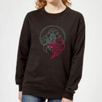 Nintendo Super Metroid Samus And Mother Brain Women's Sweatshirt - Black - XXL - Black - Mother Gifts