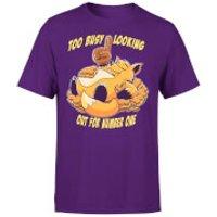 Fox No1 T-Shirt - Purple - M - Purple
