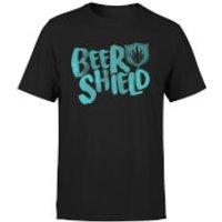 BeerShield Logo T-Shirt - Black - M - Black