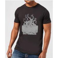 Beershield Octoholic T-Shirt - Black - M - Black