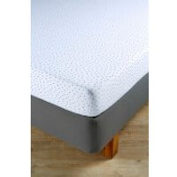 Christy Junior Speckles Jersey Fitted Sheet - Indigo - Double - Blue