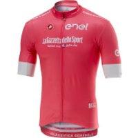 Castelli Giro D'Italia Giro Squadra Jersey - Pink - L - Pink